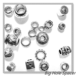 Big Hole Spacer Beads