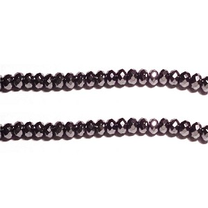 Black spinel 04(natural), hand-cut bead, B grade 8*6mm fac roundlle beads