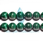 Malachite01 12mm round beads