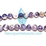 Sodalite03 (natural), 8mm round, B grade,