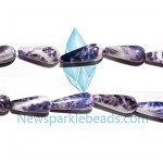Sodalite12 (natural), 22*9mm teardrop, B grade,