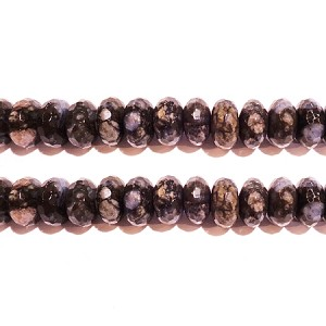 black opal  fac 8*14mm roundlle beads
