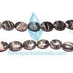Green Grass Agate08 18*14mm Oval  Beads