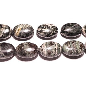 Green Grass Agate07  25*18mm Oval  Beads