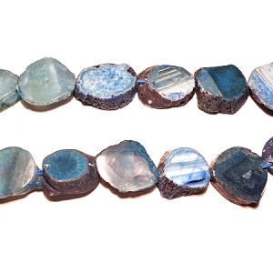 AG-Mix08 Beads , mixed agate handcut  nugget