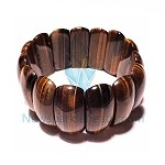 Tiger's eye bracelet big