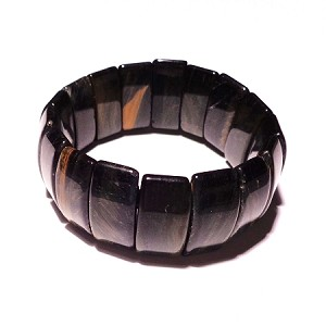 Tiger's eye bracelet black