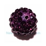Crystal color ball-Purple