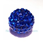 Crystal color ball-Dark Blue