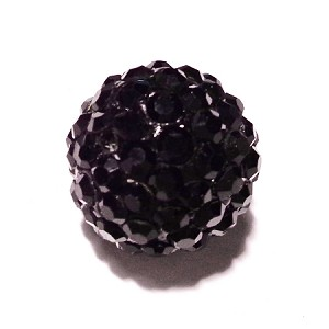 Crystal color ball-Black