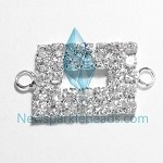 White Crystal  Charms 11