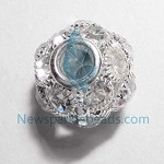 White Crystal  Charms 20