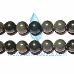 JD1 Beads , Canada Jade 12mm round A grade