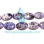 Sodalite05 (natural), 30*20mm oval, B grade,