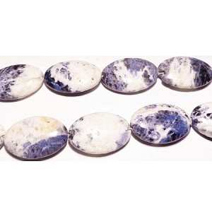 Sodalite04 (natural), mm oval, 30*20 C grade,