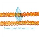 Citrine05 6mm roundlle Beads A grade