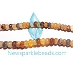 AG-Mix20 Beads , mixed agate handcut  nugget