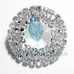 White Crystal  Charms 14