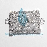 White Crystal  Charms 17